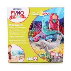 Staedtler Fimo Kids Mermaid Set Form and Play 4x42g(5.9oz)