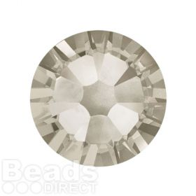 2088 Swarovski Crystal Flat Backs Non HF 7mm SS34 Crystal Silver Shade F Pk144