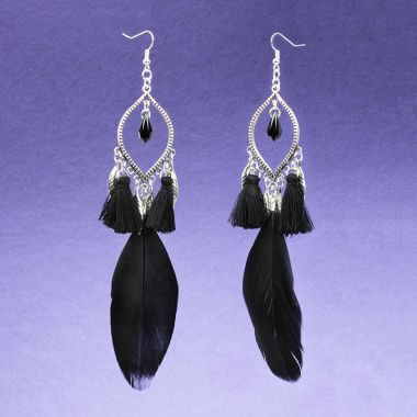 Midnight Party Earrings | Festival Jewellery