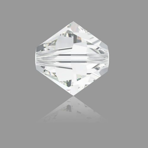 5328 Swarovski Crystal Bicones Xillion 6mm Crystal Clear Pk24