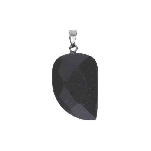 Night Cairo / pendant / fang / 32x16x6mm / 1pcs