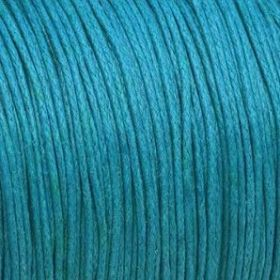 Waxed cord / blue / 1.0mm / 1m