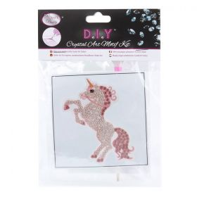 Beads Direct Crystal Motif Kit 'Fairytale Unicorn' with Tool