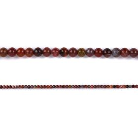 "Portugal Agate Round Semi Precious Beads 4mm 15"" Strand"