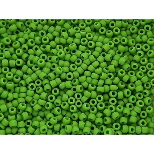 TOHO™ / Round 11/0 / Opaque Frosted / Mint Green / 10g / ~1200pcs