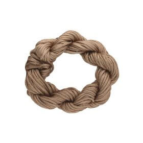 Mcord ™ / Macramé cord / nylon / 1.5mm / light brown / 13m