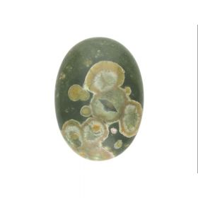 Rhyolite / cabochon / oval / 18x25x7mm / 1pcs