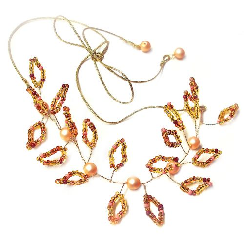 Beads Direct Twisted Bridal/Prom Kit - Gold