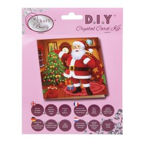 Beads Direct 'Santa's Here' Crystal Card Kit