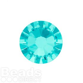 2088 Swarovski Crystal Flat Backs Non HF 4mm SS16 Light Turquoise F Pk1440