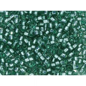 TOHO™ / Treasure 11/0 / Transparent Silver Lined / Jade / 5g