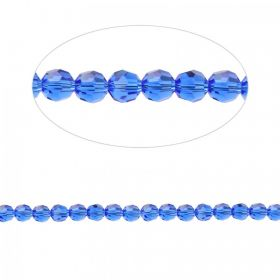 5000 Swarovski Crystal Faceted Round Beads 4mm Majestic Blue Pk12