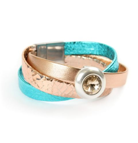Jewel Wrap Light Silk Bracelet