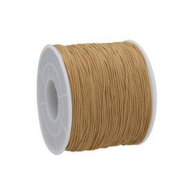Macramé™ / Macramé cord  / nylon / 0.6mm / honey / 135m