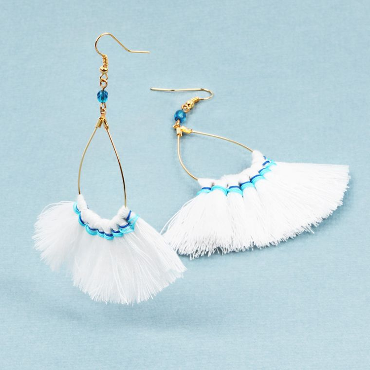 Festival Tassel Earrings | Summer Jewellery