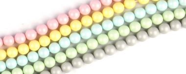 Beads of the Week: Swarovski Pastel Pearls