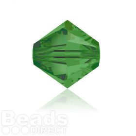 5328 Swarovski Crystal Bicones 6mm Fern Green Pk360