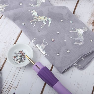 HOW TO: Embellish with Swarovski Crystals