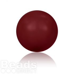5810 Swarovski Glass Pearls 8mm Crystal Bordeaux Pk250