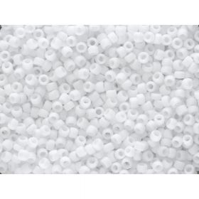 TOHO™ / Round 15/0 / Opaque Frosted / White / 10g / ~ 1400 pcs