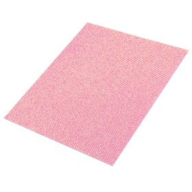 Pink AB Resin Crystal Sparkle Self-Adhesive Sheet 2mm 20x24cm Pk1
