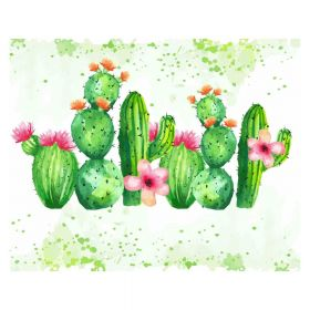 Diamond painting / mosaic 5d / cactus / 40x50cm / 1pc