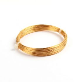 Gold Coloured Copper Wire 0.4mm 20metre Coil