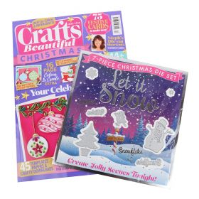 Crafts Beautiful Magazine Issue 324 Xmas Special 2018