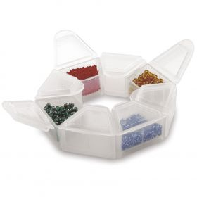 Beadalon Storage Ring 8 Compartments 25x10mm