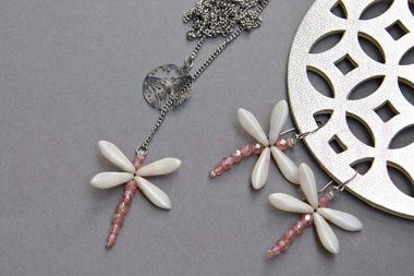 Beaded Dragonfly Set – jewellery making tutorial