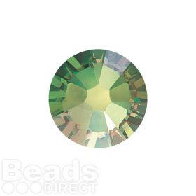 2088 Swarovski Crystal Flat Backs Non HF 4mm SS16 Peridot AB F Pk1440