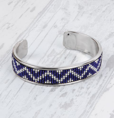 Zig-Zag Bangle