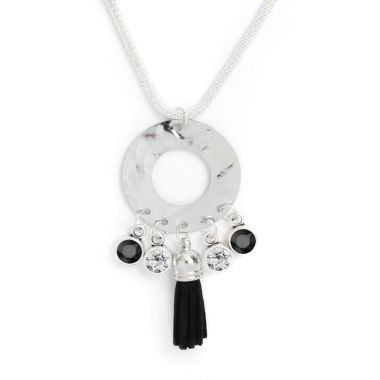 Enigma Silver Necklace