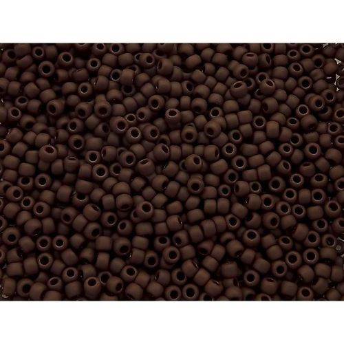 TOHO™ / Round 8/0 / Opaque-Frosted / Oxblood / 10g / ~ 300 pcs