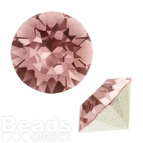 1088 Swarovski Crystal Chaton SS39 8mm Blush Rose F Pk2