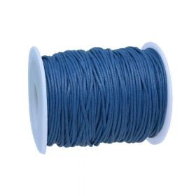 Waxed cord / 1.5mm / navy blue / 72m