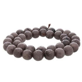 Agate / faceted round / 10mm / light brown / 35pcs