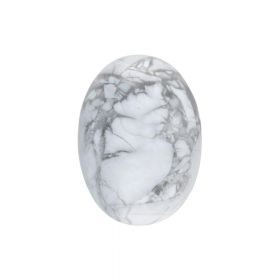 Marble / cabochon / oval / 13x18x6mm / 1pcs