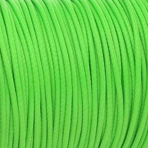 Coated twine / 3.0mm / lime / 1m