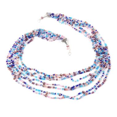 Scattered Bead Sparkler Necklace