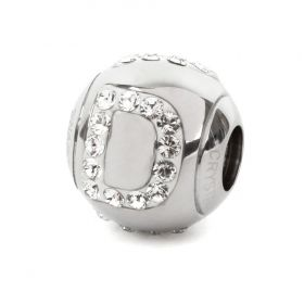 82201 Swarovski Crystal BeCharmed Letter 'D' Bead 12mm Pk1