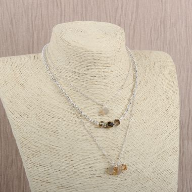 Crystal Topaz Necklace