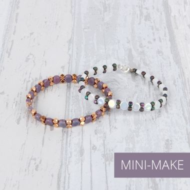 Gemini Bracelets | Mini-Make Monday