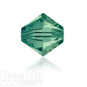 5328 Swarovski Crystal Bicones 6mm Erinite Pk360