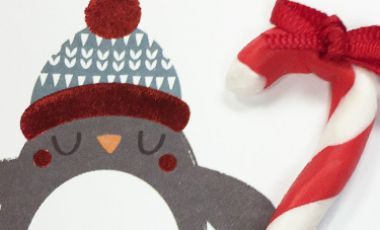 HOW TO: Candy Canes – Card Embellishments