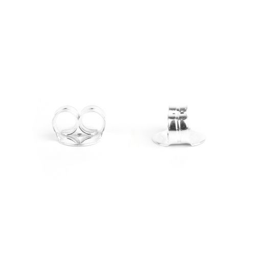 X Sterling Silver 925 Large Earring Back/Base 10mm 1xPair