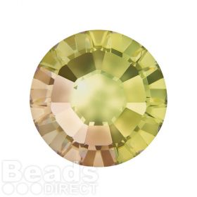 2078 Swarovski Crystal Hotfix Round 7mm SS34 Crystal Luminous Green A HF Pk144