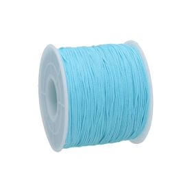Macrame ™ / Macrame cord / nylon / 0.6mm / light blue / 135m