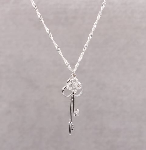 'Secrets & Whispers' Key Necklace