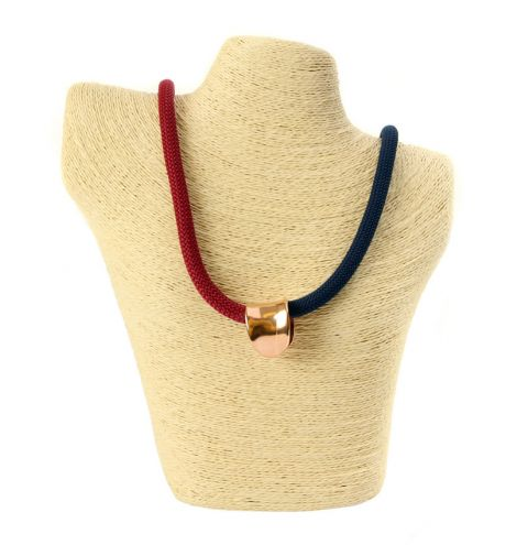 Harbour Navy and Bordeaux Necklace
